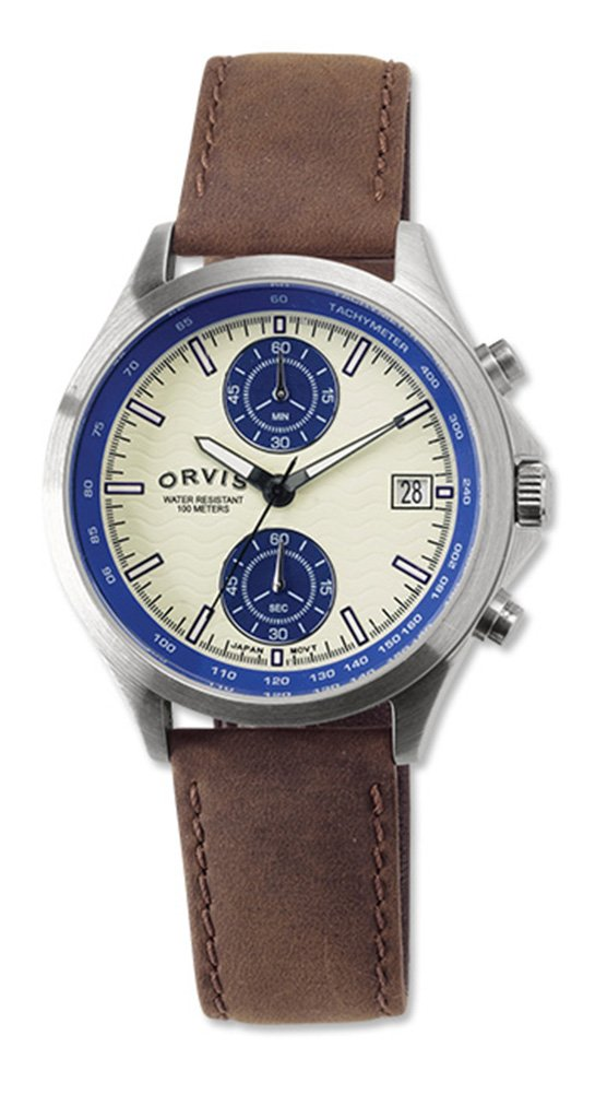 Orvis Addison Dual-eye Chronograph, Blue by Orvis