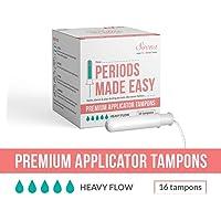 Sirona Premium Applicator Tampons Super Plus Heavy Flow - 16 Pieces (1 Pack)