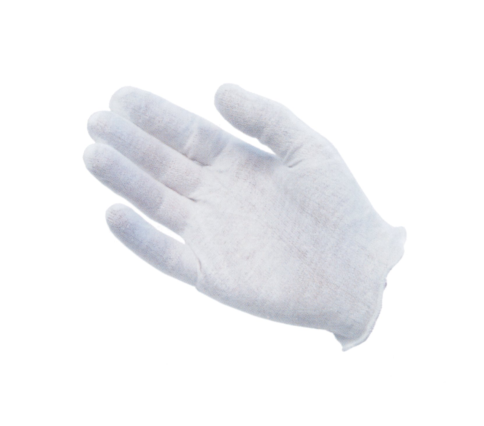 Protective Industrial 97-520 Cotton Lisle Medium Weight Men's Glove Liner, 9'' Length, Large, White (Pack of 12)