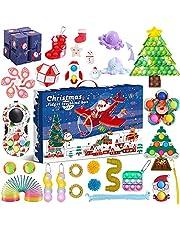 Fidget Advent Calendar 2021 Toy Pack Christmas Advent Calendar Fidget Toy Pack Stress Relief Fidget Box Party Favor, Advent Calendar-a1, One Size