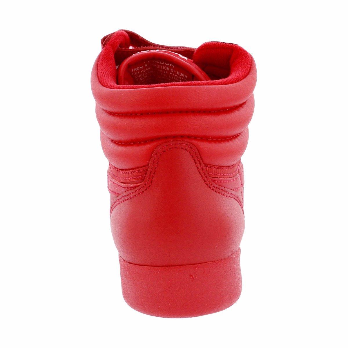 Reebok Women's F/S Hi Spirit Sneaker, Excellent Red/White, 8 M US