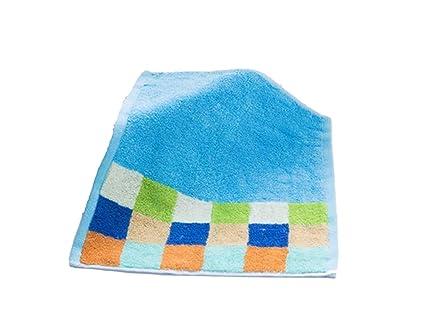 SUPRERHOUNG Baby Cotton Lattice Wash Toalla para la Cara Toalla para bebés Saliva Toalla para niños