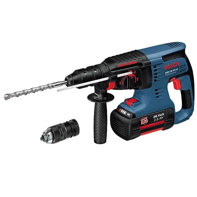 Testbericht Bosch Professional GBH 36 VF-LI Plus Akku-Bohrhammer
