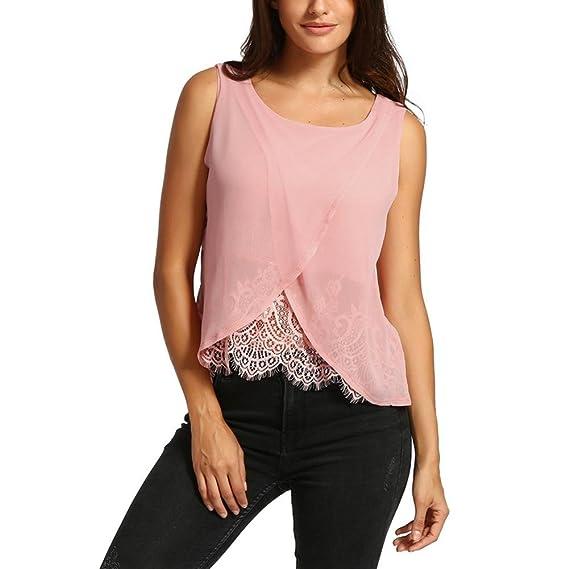 ASHOP Camisetas Muje, Camisetas v EN Oferta Suelto Tops Blusas de Mujer Elegantes de Fiesta