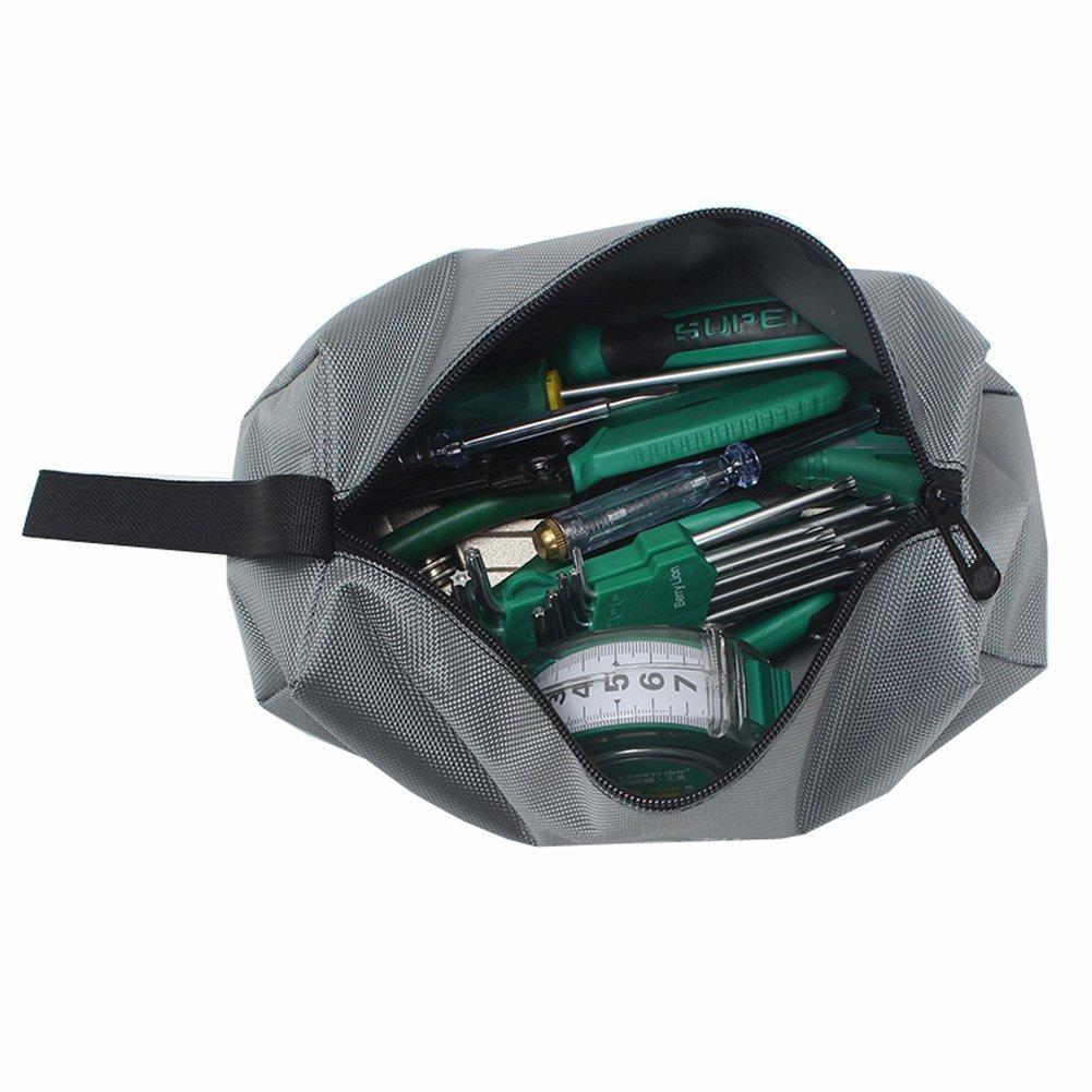 QEES Sac /à outil Lot de 5 Multifonction Rangement des Outils Sacoches /à outils