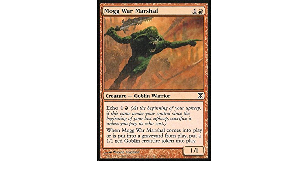Time Spiral Mogg War Marshal MTG Magic Card