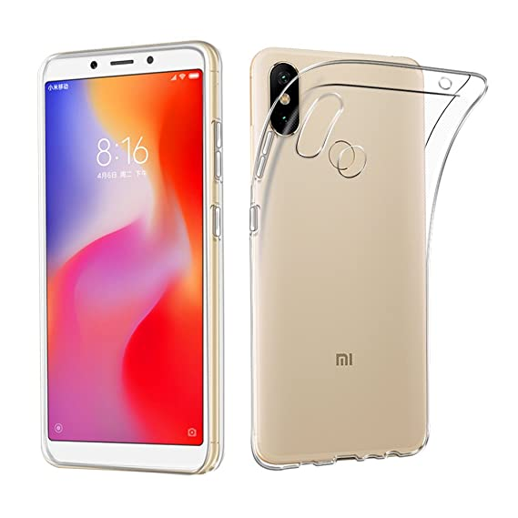 pretty nice 07d9d ab006 Xiaomi Mi Max 3 Case, AVIDET Shock-Absorption Flexible Soft Gel TPU  Silicone Case Cover for Xiaomi Mi Max 3 (Transparent)