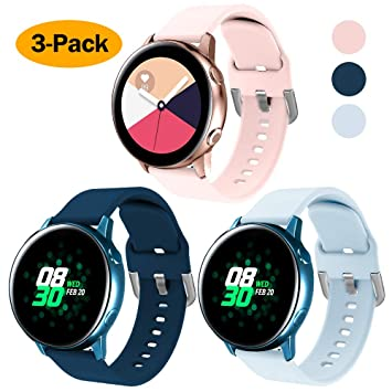 XIMU Compatible con Samsung Galaxy Watch Active 40mm Correa/Active ...