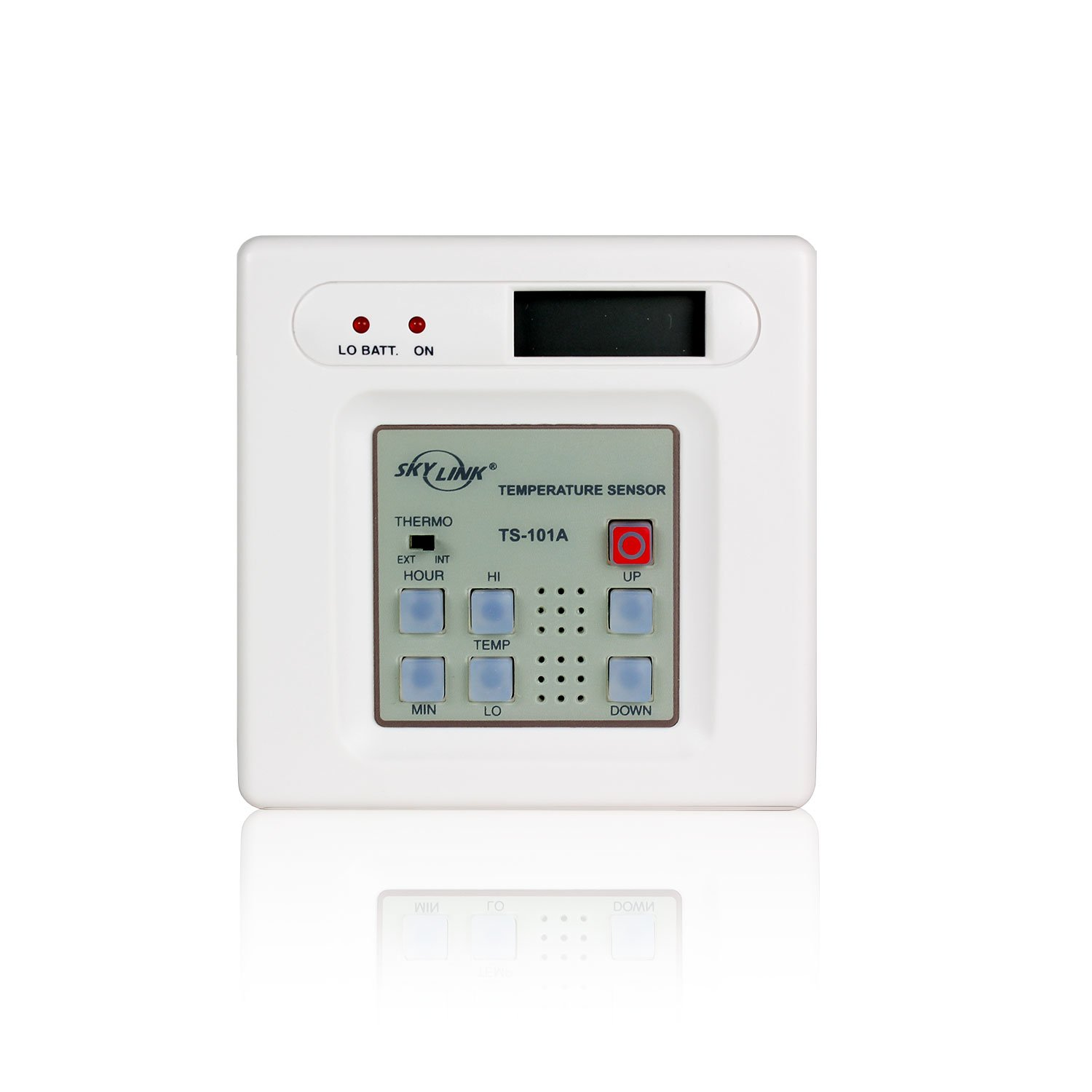Skylink TS-101W Wireless Temperature Monitor Alert Security Safety Protection Sensor | Affordable, Easy to Install DIY Accessory for SC Series Systems