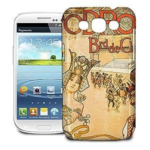 Phone Case For Samsung Galaxy Win I8550 - Hippodrome French Art Deco Hardshell Wrap-Around wangjiang maoyi
