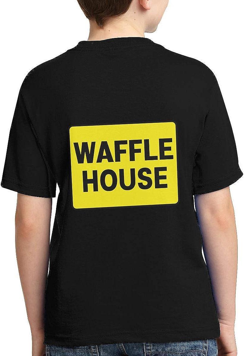 Yangyingb Boys,Girls,Youth Waffle House Tee Shirt