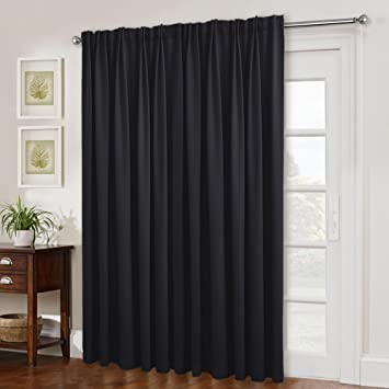 Amazoncom Nicetown Black Out Blinds For Sliding Doors Extra Wide