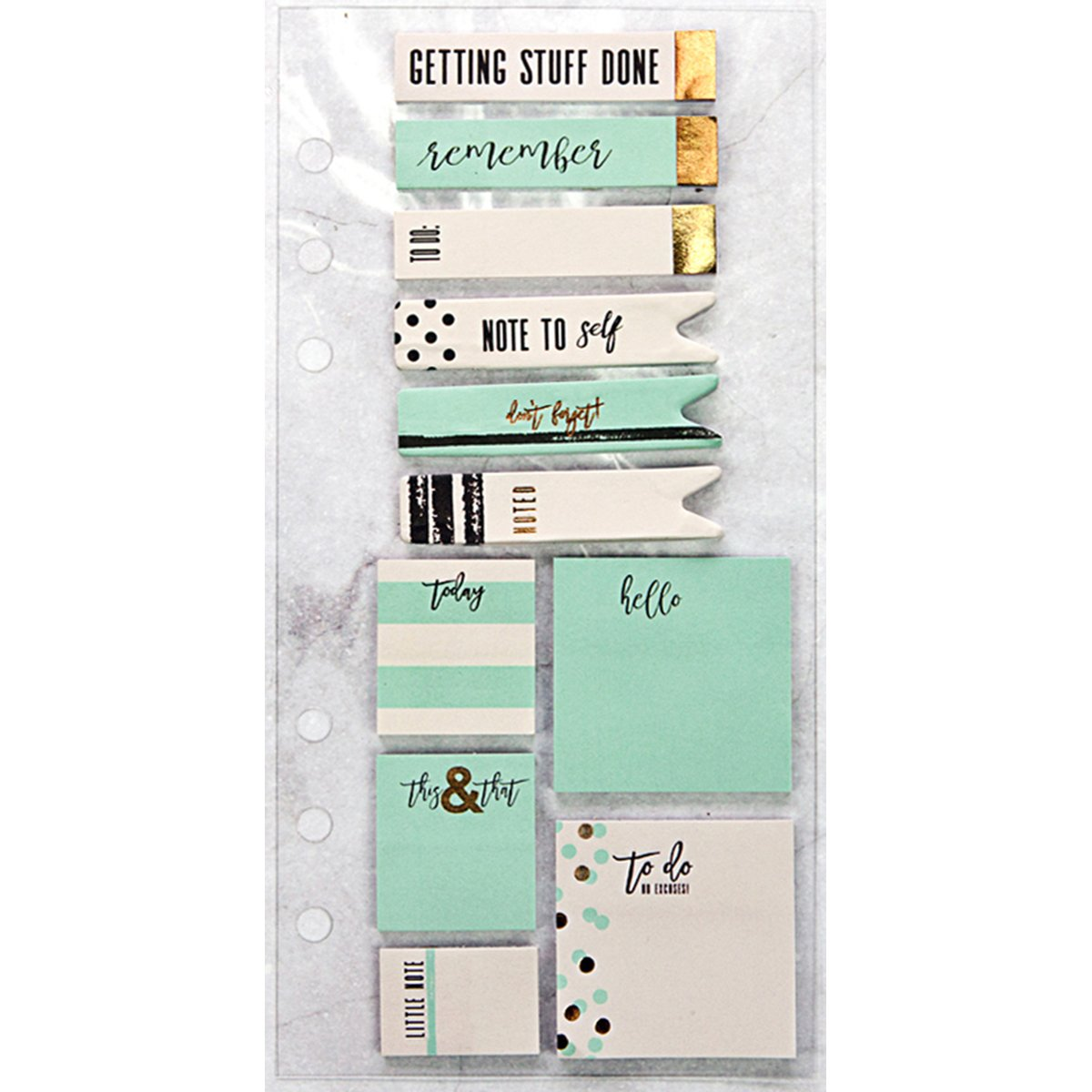 Prima Marketing 655350992545 Frank Garcia Planner Accessories Sticky Notes by Prima Marketing