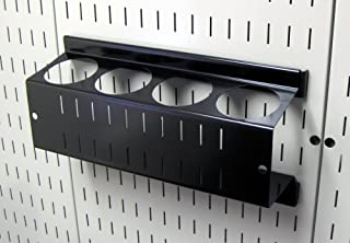 product image for Wall Control Pegboard Spray Can Holder Bracket and Aerosol Can Organizer for Wall Control Pegboard and Slotted Tool Board – Black