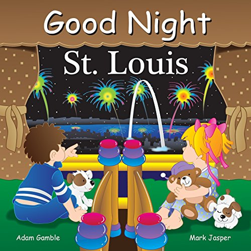 Louis Cardinals Book Cover - Good Night St Louis (Good Night Our World)