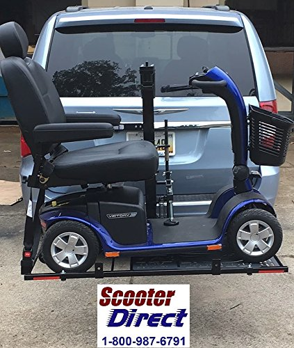 Electric Mobility Scooter Lift - Hold N Go Electric Scooter Lift with Automatic Hold Down Arm