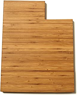 product image for AHeirloom State of Utah Cutting Board, 16 Inch, Amber