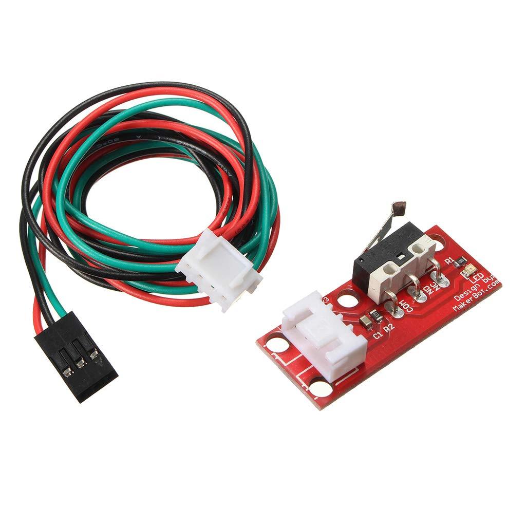 Interrupteur de fin de course mécanique avec câble 22WAG pour imprimante