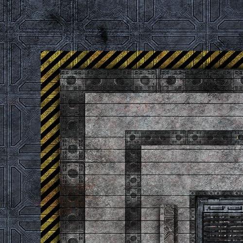 Frontline Gaming Industrial 6x4 Neoprene Wargaming Mat FLG Mat