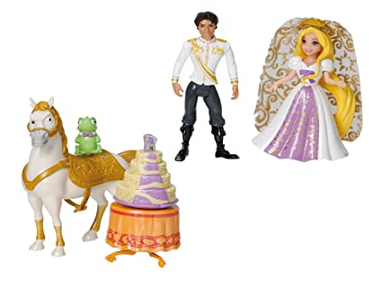 Disney Princess Rapunzel Wedding Party Set  sc 1 st  Amazon.com & Amazon.com: Disney Princess Rapunzel Wedding Party Set: Toys \u0026 Games