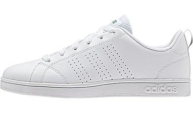 adidas Children's Advantage Clean Lace Up Sneaker White 4 ...
