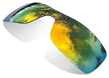 Sunglasses Restorer Lentes de Recambio Polarizadas Fire Iridium para Oakley Batwolf