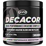 Decacor Creatine (50 Serv) - 10 Creatine Blend - Best Creatine Powder - Muscles, Power, Recovery