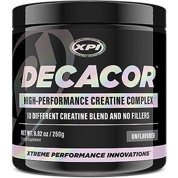 Decacor Creatine (50 Serv) - 10 Creatine Blend - Best Creatine Powder  Available -