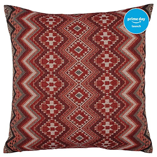 Stone   Beam Southwest Inspired Pillow  20  X 20   Red