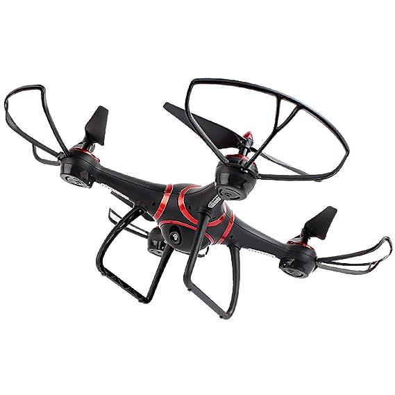 MachinYeser S7 LED de visión Nocturna RC Drone con 720 P cámara ...