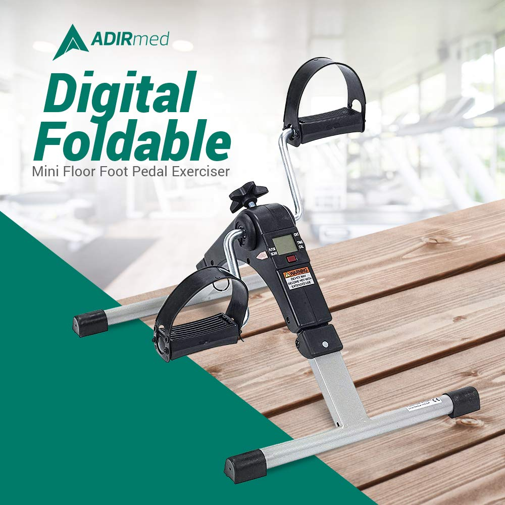 AdirMed Digital, Foldable Pedal Exerciser Leg Machine (Fully Assembled, no tools required) by AdirMed (Image #2)