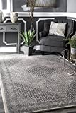 nuLOOM MTCS01B Faded Handmade Wool Area Rug, 5' x 8', Beige