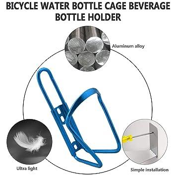 Ultraligero aleación de Aluminio Bicicleta Botella de Agua Titular ...