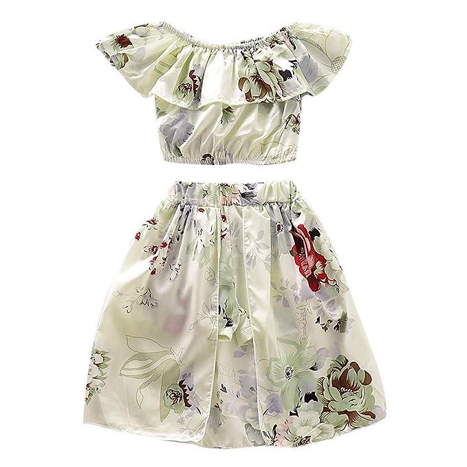 Amazon.com: Fineser - Falda para bebé, diseño de girasol con ...