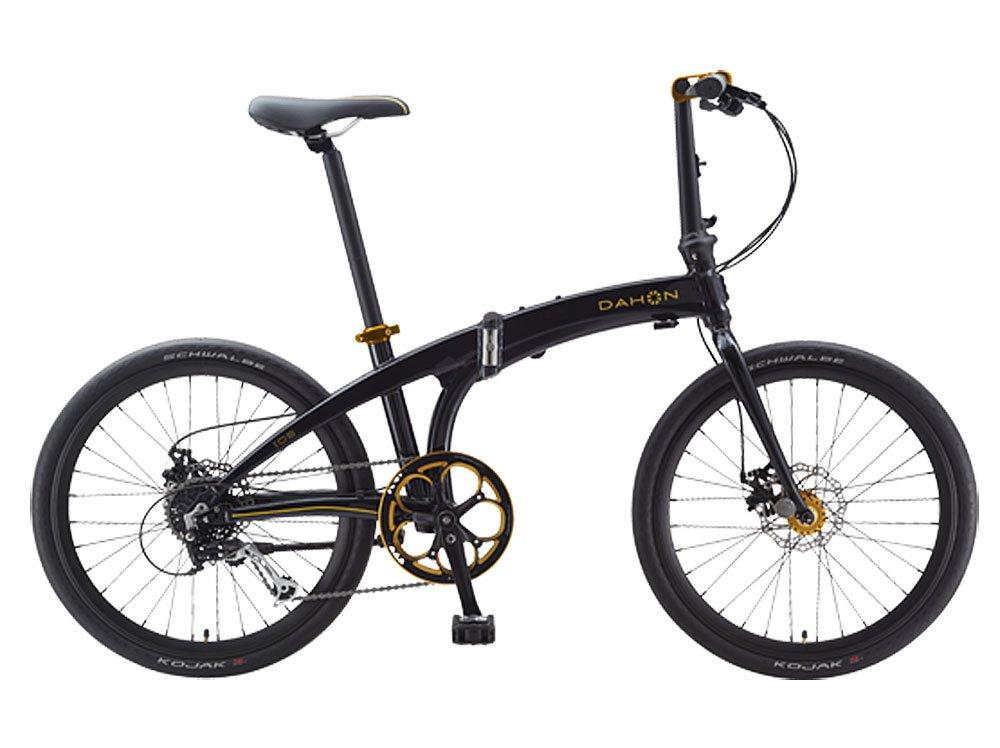 Dahon IOS D9 Black & Gold Folding Bike B00YFHOVT0
