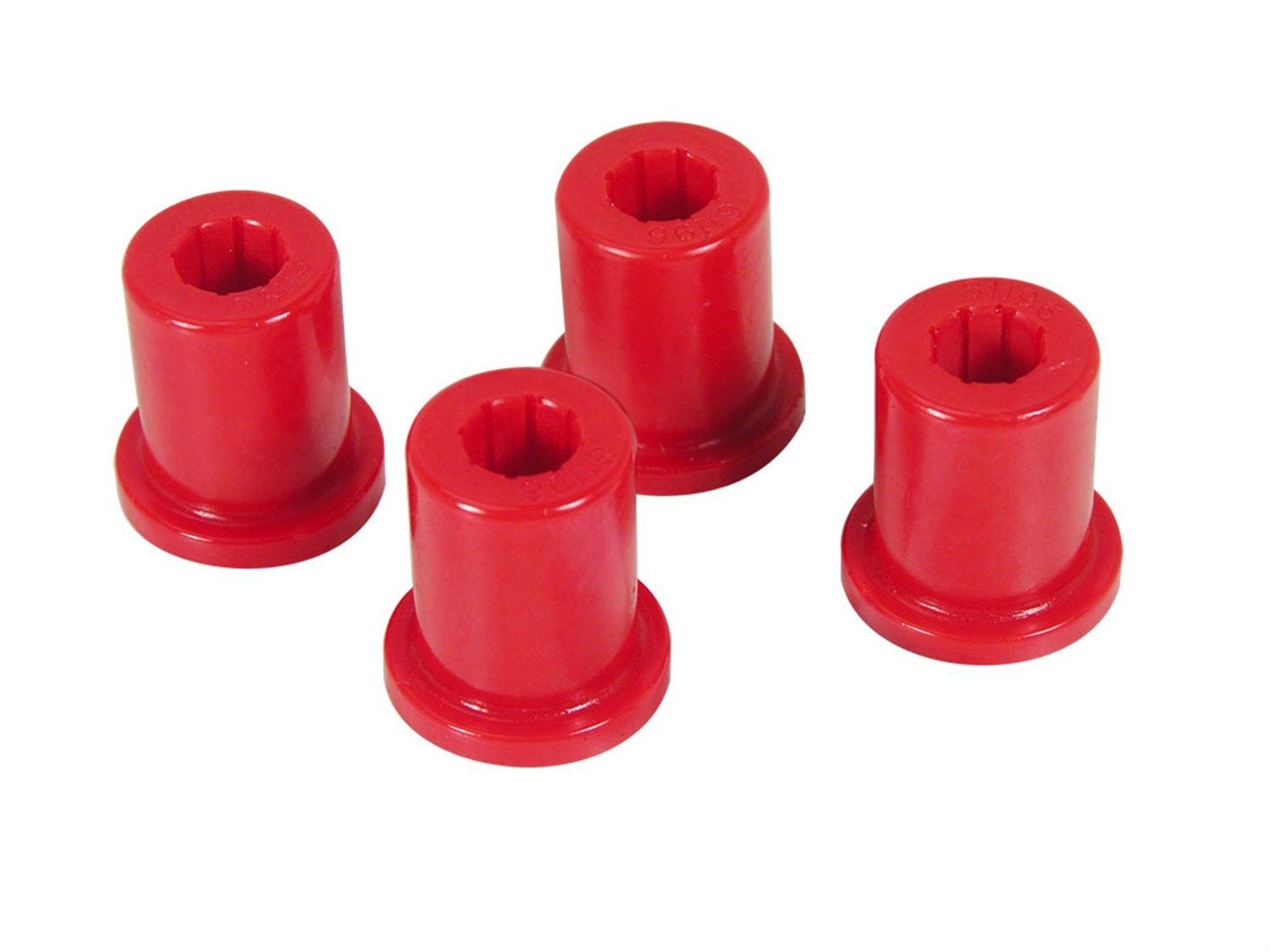 Prothane 1-802 Red Rear Frame Shackle Bushing Kit for CJ5 and CJ7
