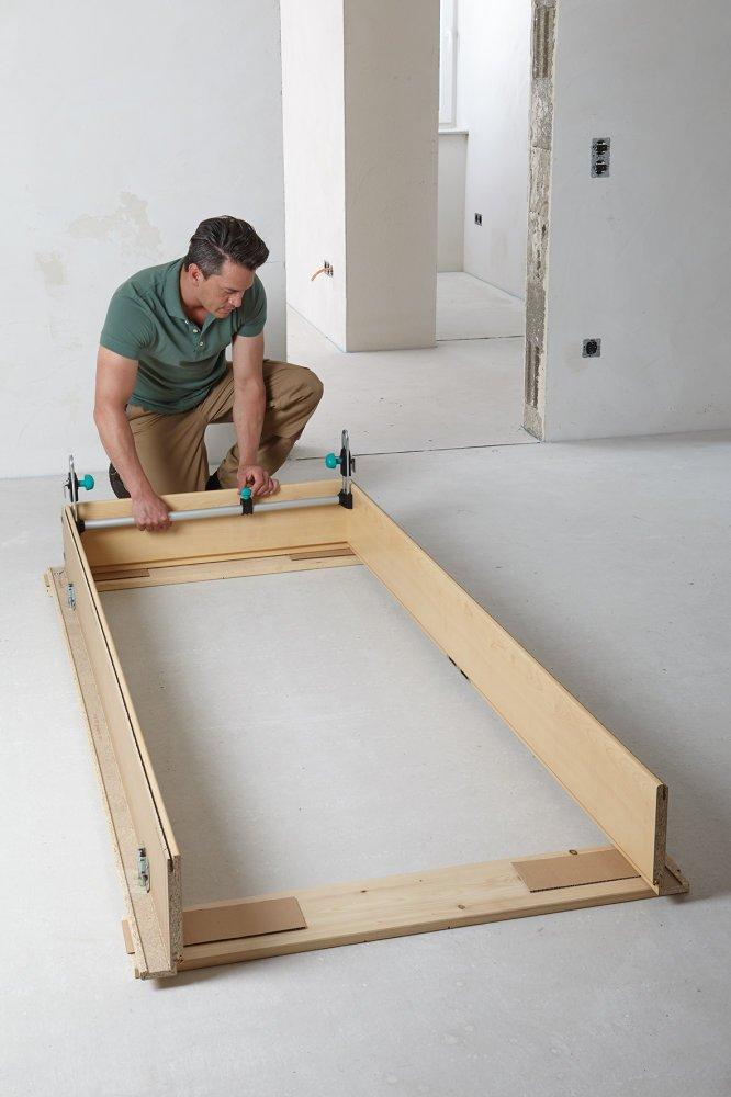 Wolfcraft 3675000 Puntal para cerco de puerta: Amazon.es: Bricolaje y herramientas