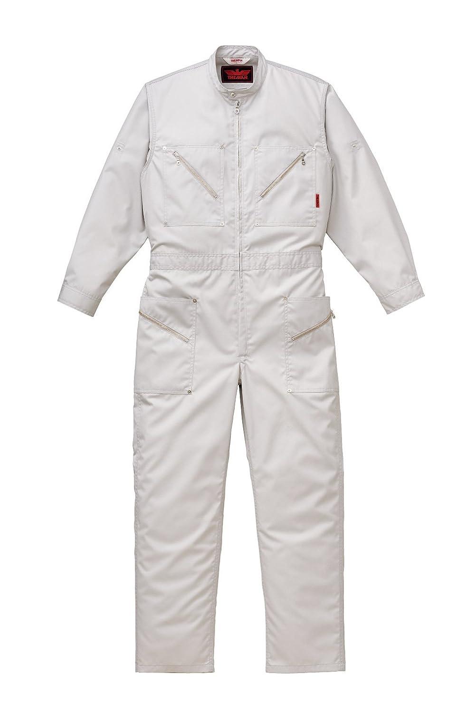 THE-MAN 山田辰 ツヅキ服(オールシーズン用) ATO-17 シルバーグレー 5Lサイズ B00K8ODFBO 5L|シルバーグレー シルバーグレー 5L