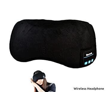 Horsebiz Máscara de Dormir con Bluetooth, Auriculares para Dormir Estéreo, para Dormir y para