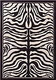 New Zebra Print Rug Contemporary Area Rug Zebra Rugs 2x3 Zebra Door Mats Zebra Bathroom Rugs Small Bedroom Rug (2'x3' Kitchen/ Bathroom/ Entrance Door Mat)