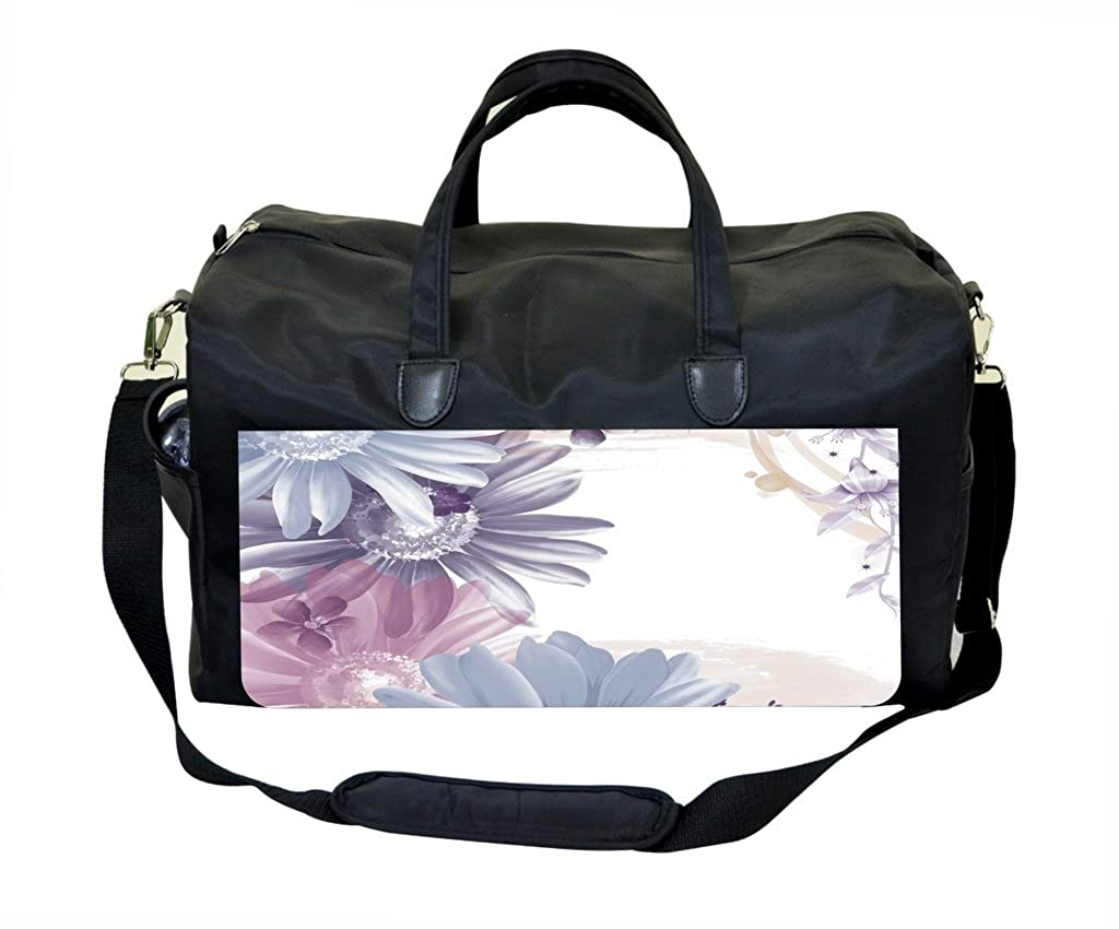 04-Watercolor Florals Weekender Bag