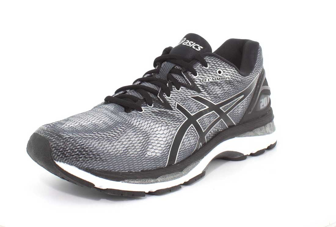 ASICS Men's Gel-Nimbus 20 Running Shoe B077MTKSH9 11 EEEE US|Carbon/Black/Silver