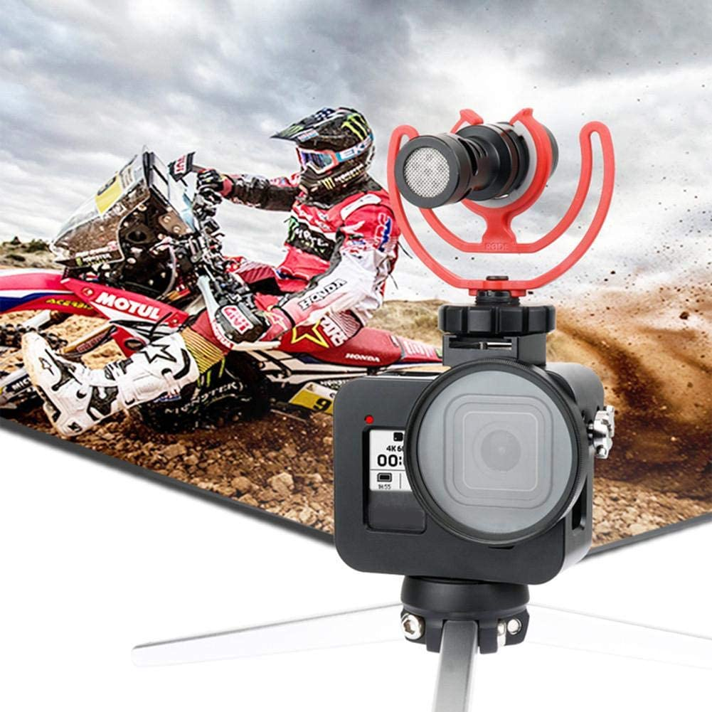 Biggystar Camera Case Metal Case Cover for GoPro 8