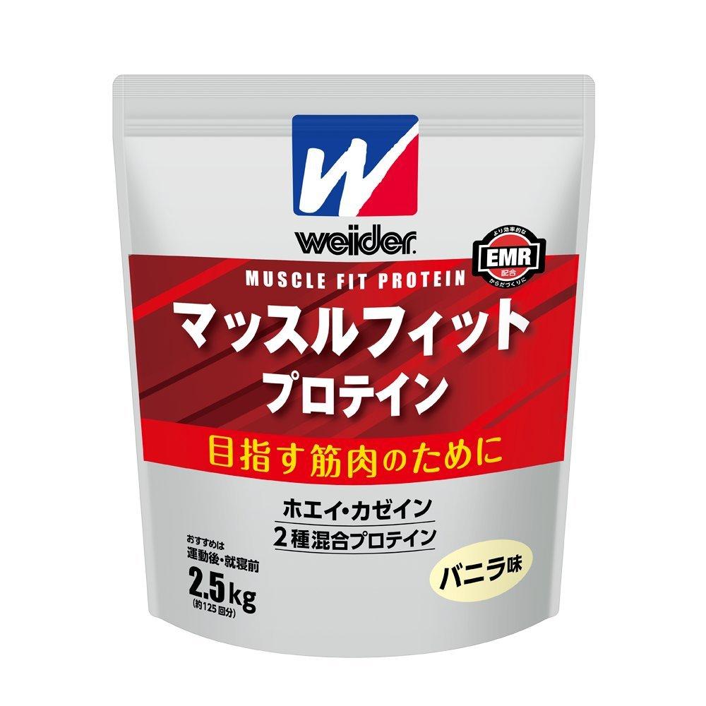 ウイダー マッスルフィットプロテイン バニラ味 360g B00510Y9TC 360g  360g