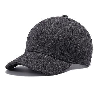 a5fddcd5342f18 Gisdanchz Winter Mützen Herren,Verstellbare Cap Fashion,55Cm Kappe Vintage  Baseball Cap Winter Accessoires