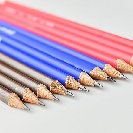 Lápiz de pintura triangular, 12 lápices de dibujo, lápiz de seguridad no tóxico, lápiz de dibujo artístico, bolígrafo de graffiti (color: color): Amazon.es: ...