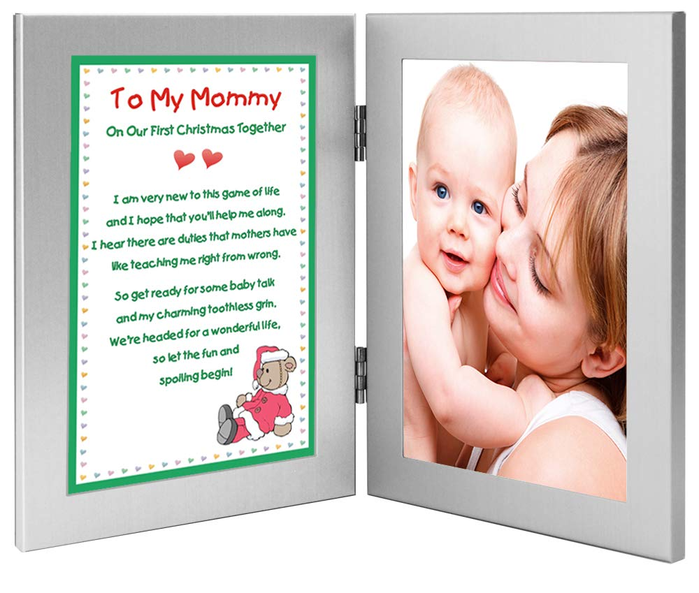 Amazon Com New Mother Christmas Poem From Baby To Mommy Add Photo
