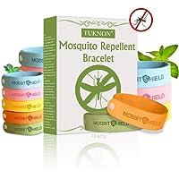 TUKNON Repelentes de Mosquitos, Pulseras Antimosquitos, Pulseras Repelentes