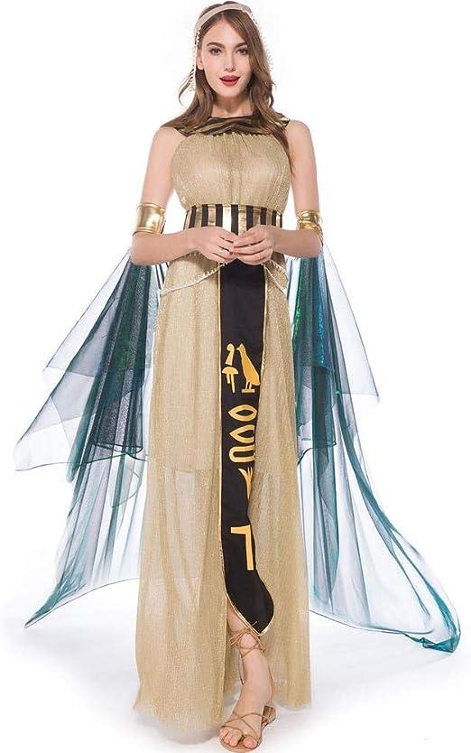YXRL Traje De Vestido De Cosplay Cleopatra Dancer Disfraces De ...