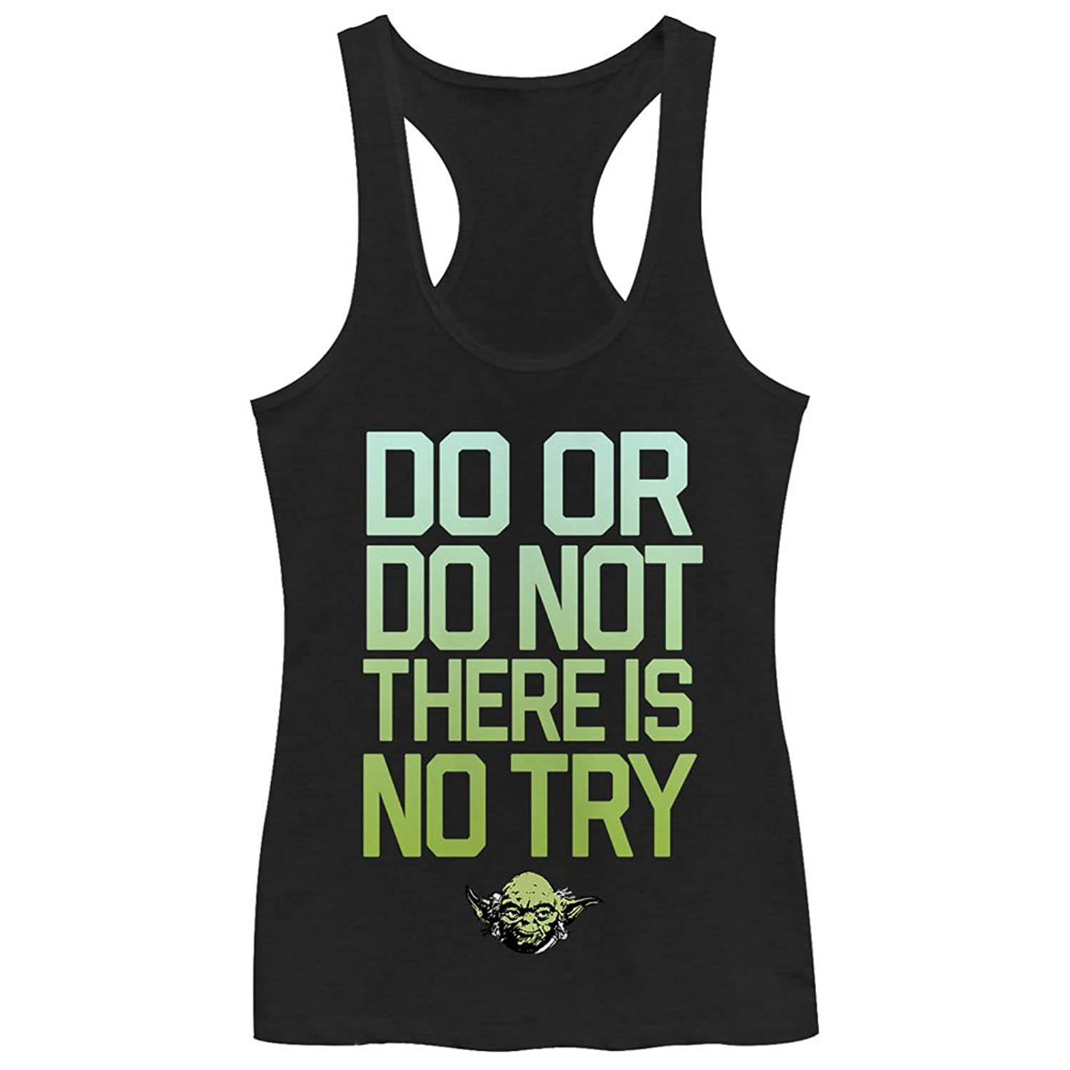 Star Wars Do Try Juniors Tank Top